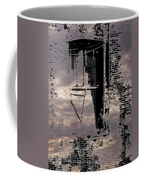 Window Coffee Mug featuring the photograph Window 3 by Tim Allen