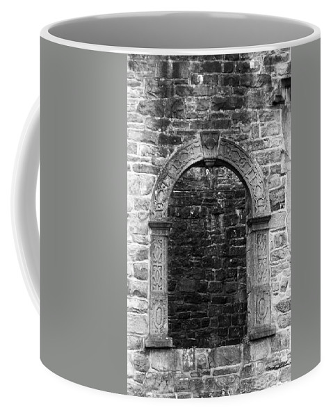 Irish Coffee Mug featuring the photograph Window At Donegal Castle Ireland by Teresa Mucha