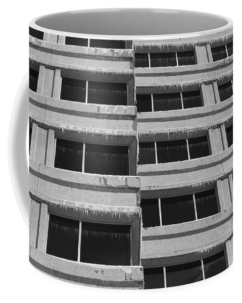 Window Coffee Mug featuring the photograph Window Cicles by Lauri Novak