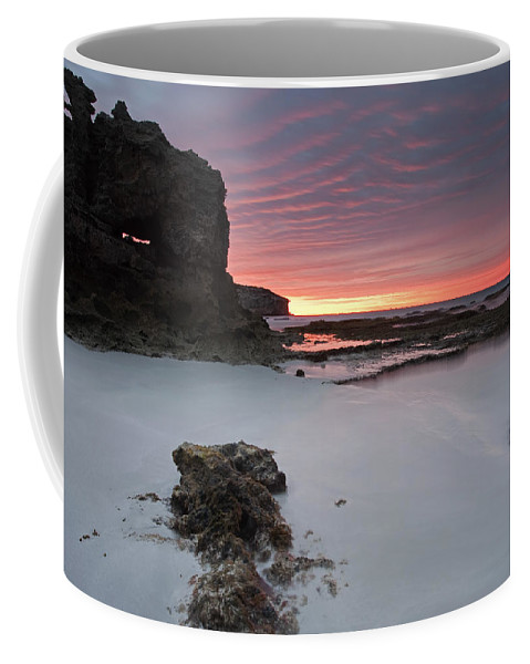 Sunrise Coffee Mug featuring the photograph Window On Dawn by Mike Dawson