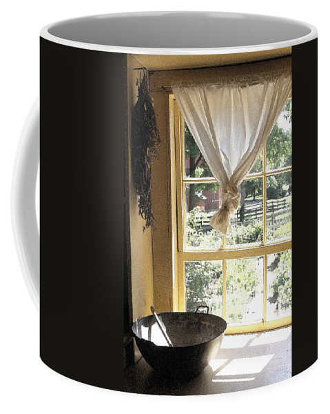 Window Coffee Mug featuring the photograph Window On Yesterday by Nelson Strong