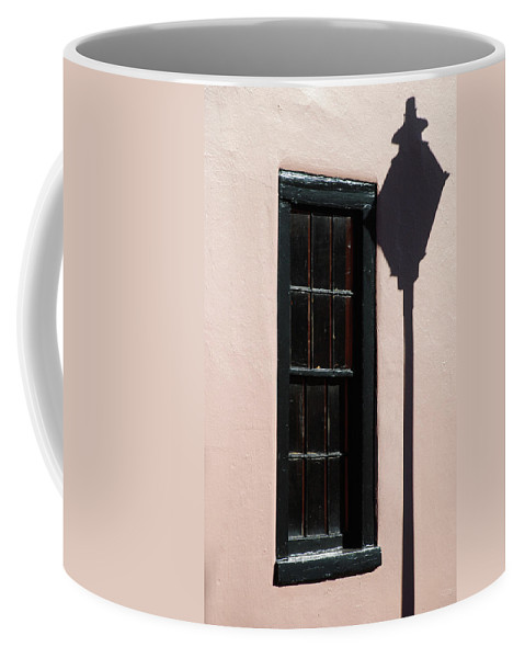Wall Coffee Mug featuring the photograph Window Shadow In Charleston Sc by Skip Willits