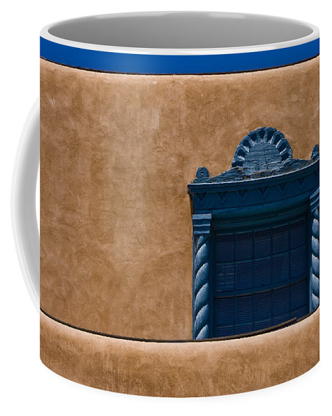 Sante Fe Coffee Mug featuring the photograph Window To Sante Fe by Ches Black