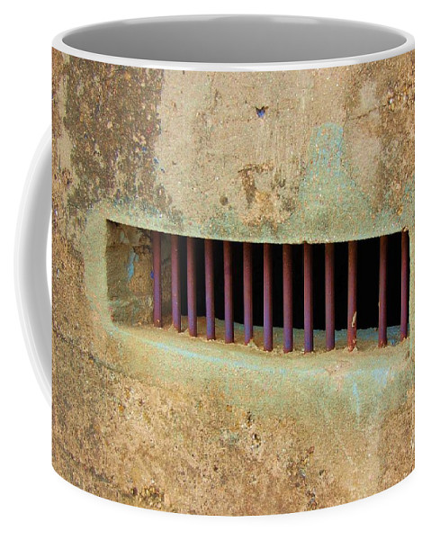 Jail Coffee Mug featuring the photograph Window To The World by Debbi Granruth
