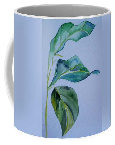 Nature Coffee Mug featuring the painting Window View by Suzanne Udell Levinger