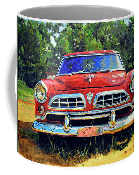 Car Coffee Mug featuring the painting Windsor by Neil Hatten