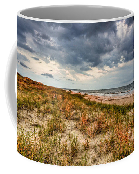Ocean Coffee Mug featuring the photograph Windswept by Ches Black