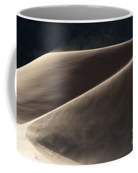 Southwest Coffee Mug featuring the photograph Windswept Dunes by Sandra Bronstein