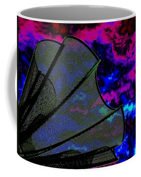 Wind Coffee Mug featuring the photograph Windy 2 by Tim Allen