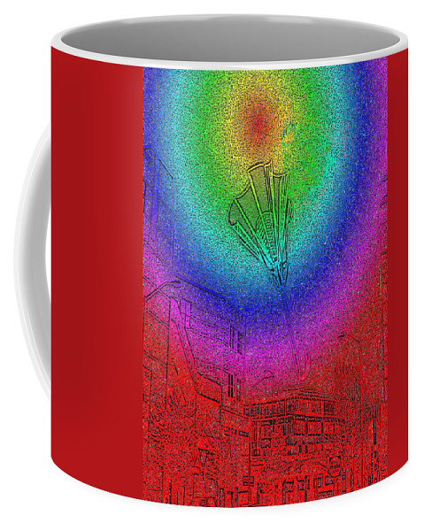 Seattle Coffee Mug featuring the photograph Windy by Tim Allen