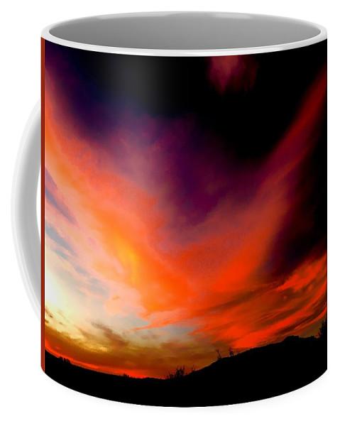 Coffee Mug featuring the photograph Seduction by Joy Elizabeth