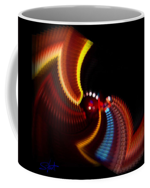 Chaos Coffee Mug featuring the photograph Wings by Charles Stuart