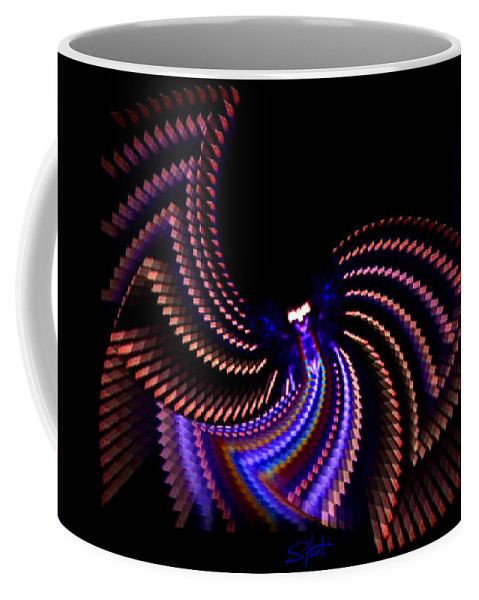 Chaos Coffee Mug featuring the photograph Wings Of Light by Charles Stuart