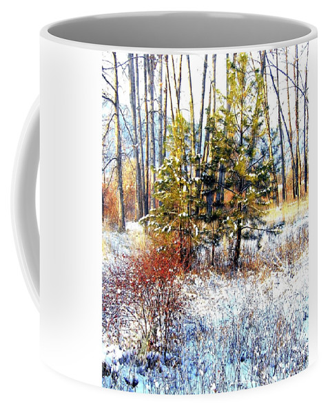 Winter Coffee Mug featuring the photograph Winter Calm by Will Borden