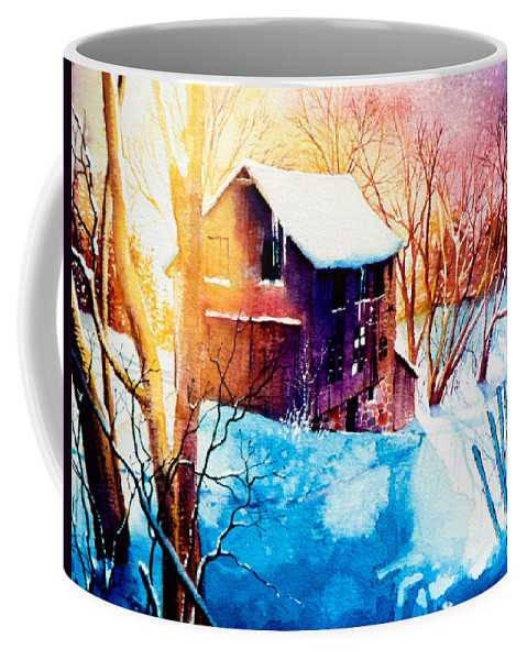 Winter Color Painting Coffee Mug featuring the painting Winter Color by Hanne Lore Koehler