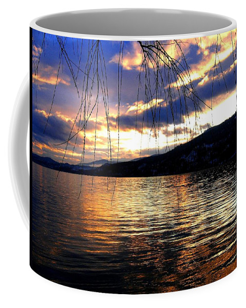 Sunset Coffee Mug featuring the photograph Winter Drama by Will Borden