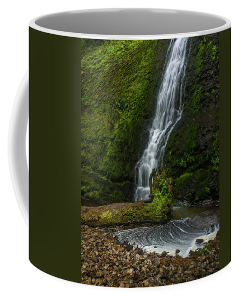 Michele James Photography Coffee Mug featuring the photograph Winter Falls by Michele James