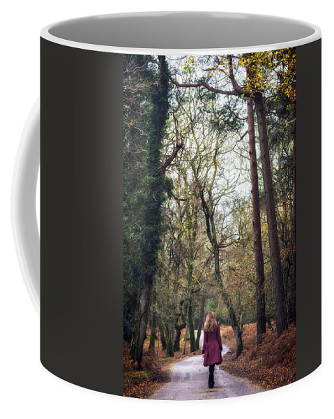 Winter Coffee Mug featuring the photograph Winter Forest by Joana Kruse