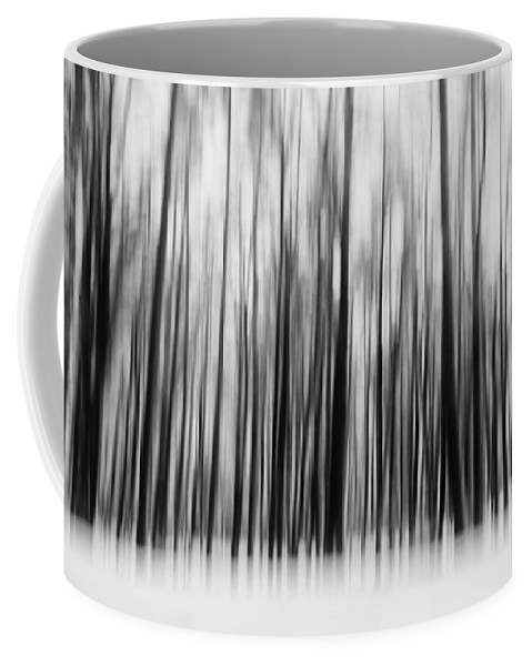 Winter Coffee Mug featuring the photograph Winter Forest by Thomas Richter