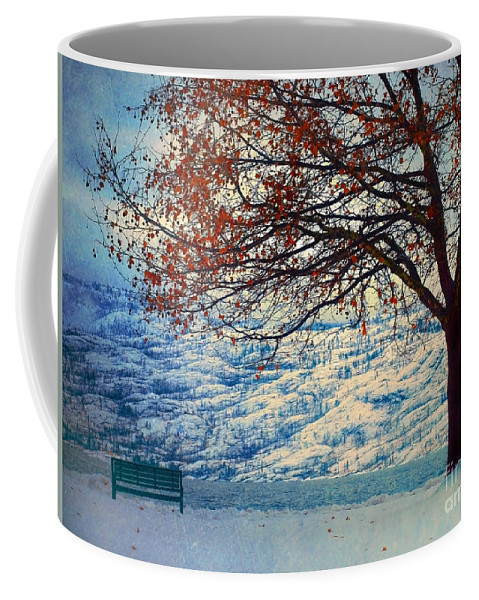 Peachland Coffee Mug featuring the photograph Winter In Peachland by Tara Turner