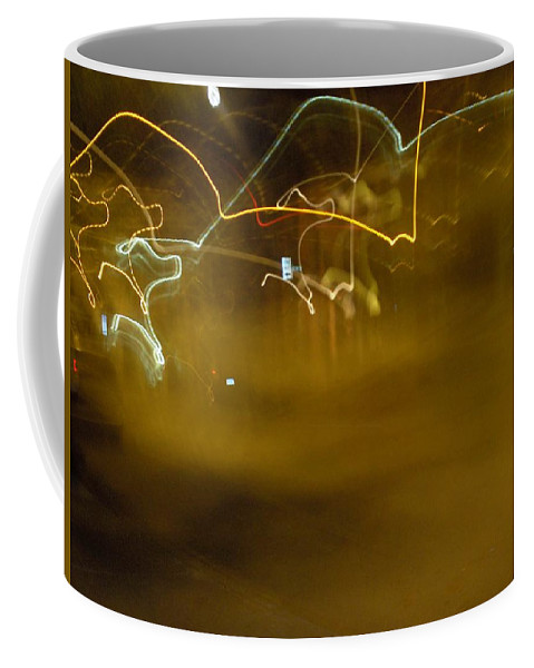 Photograph Coffee Mug featuring the photograph Winter Lights by Thomas Valentine