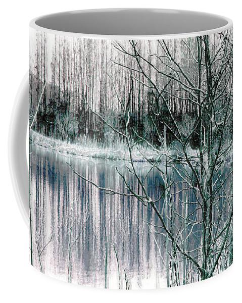 Landscape.winter Coffee Mug featuring the photograph Winter by Linda Sannuti