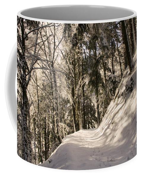 Nature Coffee Mug featuring the photograph Winter Magic by Mirko Chianucci