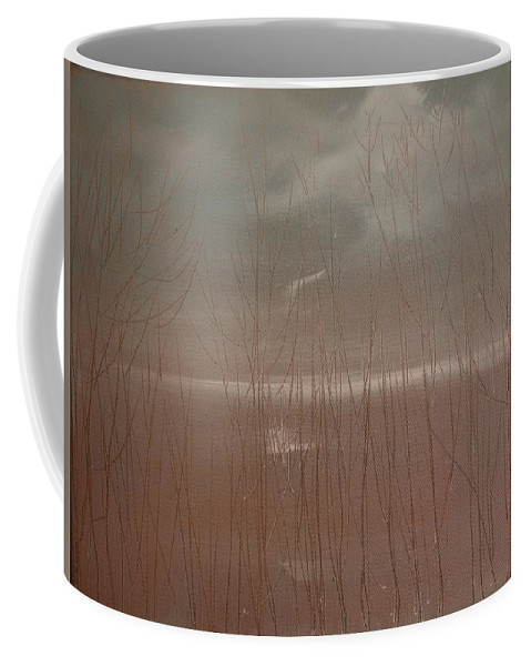 Dusk Coffee Mug featuring the painting Winter Of Hope by Jack Diamond