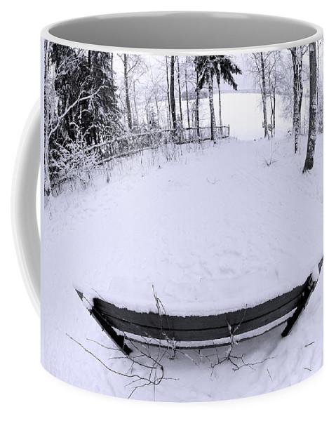 Lehtokukka Coffee Mug featuring the photograph Winter Seat 2 by Jouko Lehto