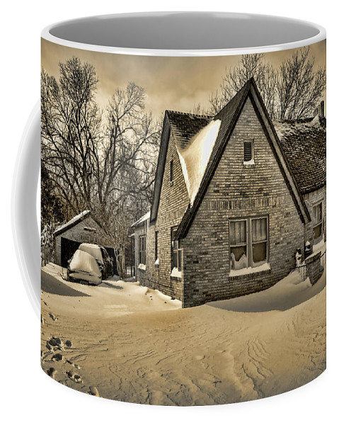 Winter Coffee Mug featuring the photograph Winter Snow II by Ricky Barnard