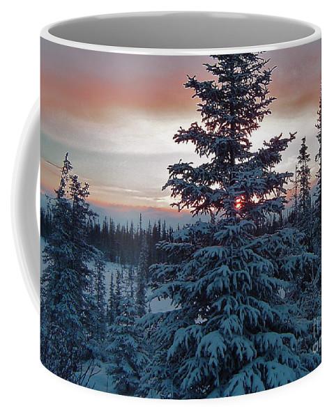 Winter Coffee Mug featuring the photograph Winter Sunrise by Rick Monyahan
