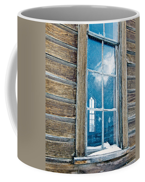 California Coffee Mug featuring the photograph Winter Windows by Norman Andrus