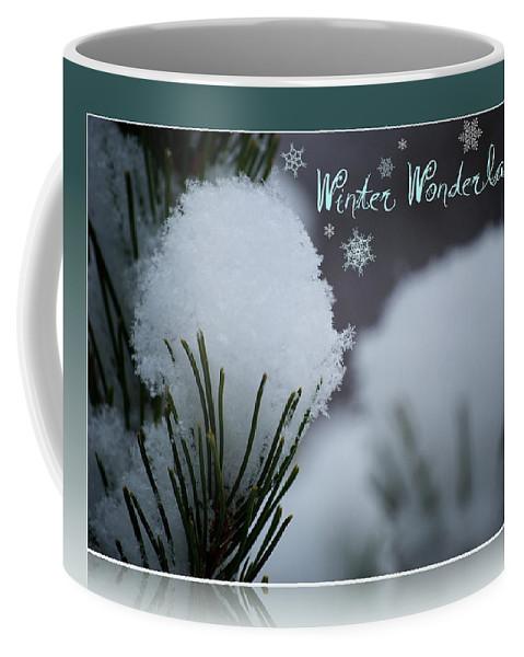 Winter Coffee Mug featuring the photograph Winter Wonderland by Lisa Knechtel