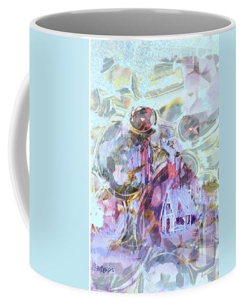Winter Wind Coffee Mug featuring the digital art Winters Blast by Seth Weaver