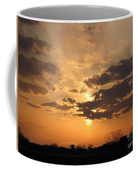 Winter Coffee Mug featuring the photograph Winters Dawn by Tommy Anderson
