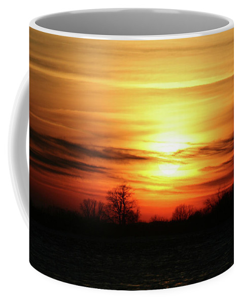 Winter Coffee Mug featuring the photograph Winters Morning by Tommy Anderson