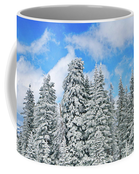 Winter Coffee Mug featuring the photograph Winterscape by Jeffrey Kolker