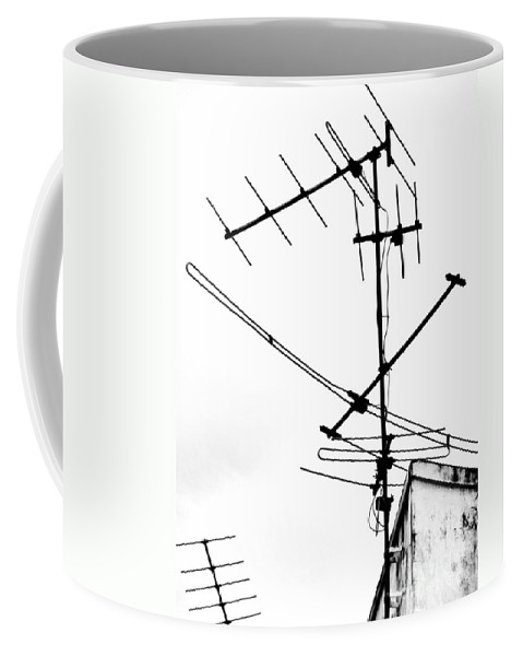 Wires Coffee Mug featuring the photograph Wired by Tara Turner