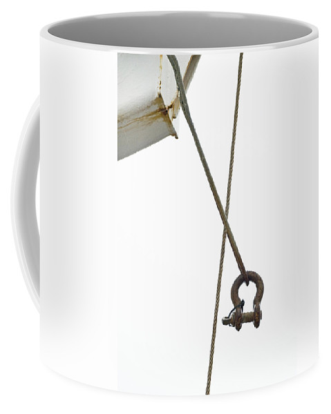 Wire Coffee Mug featuring the photograph Wires by Charles Harden
