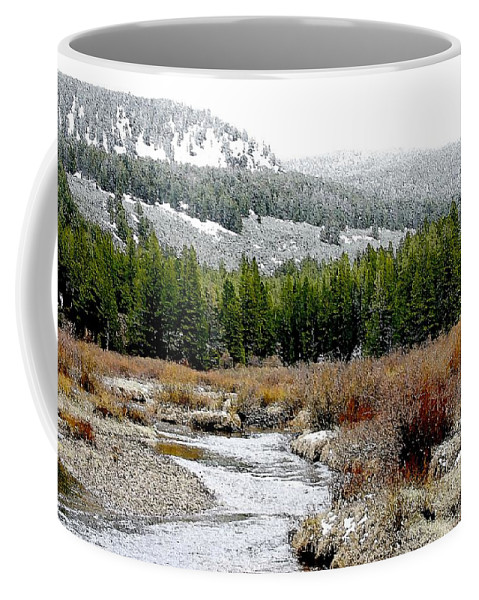 Montana Coffee Mug featuring the photograph Wise River Montana by Nelson Strong