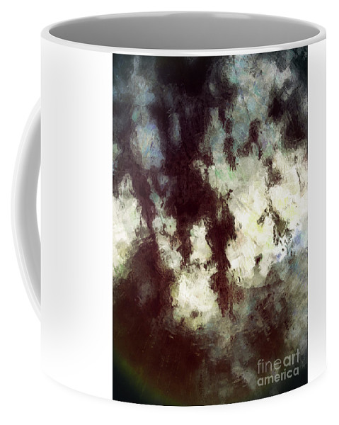 Shadows Coffee Mug featuring the digital art With Fear And Trembling by Davy Cheng