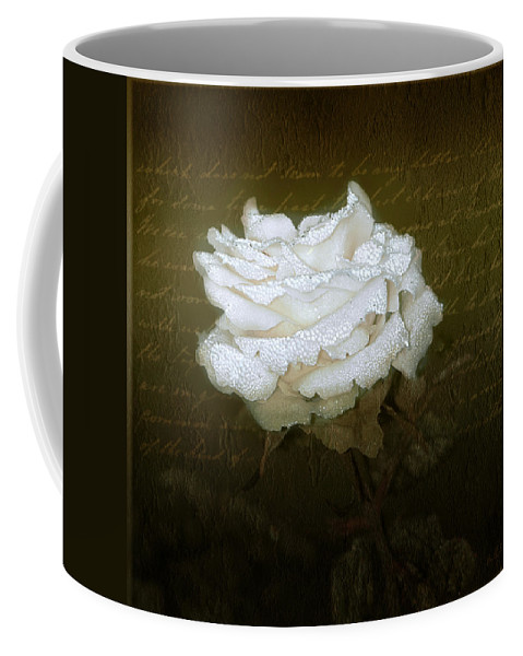 Floral Coffee Mug featuring the photograph With Love by Holly Kempe