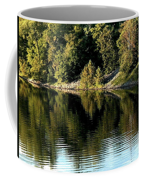 Nature Coffee Mug featuring the photograph With Love - Perception by Theresa Asher