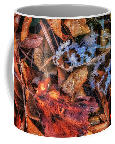 Autumn Coffee Mug featuring the photograph Withered Autumn by Steve Sullivan