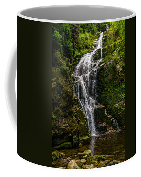 Poland Coffee Mug featuring the photograph Wodospad Kamienczyka by Pati Photography