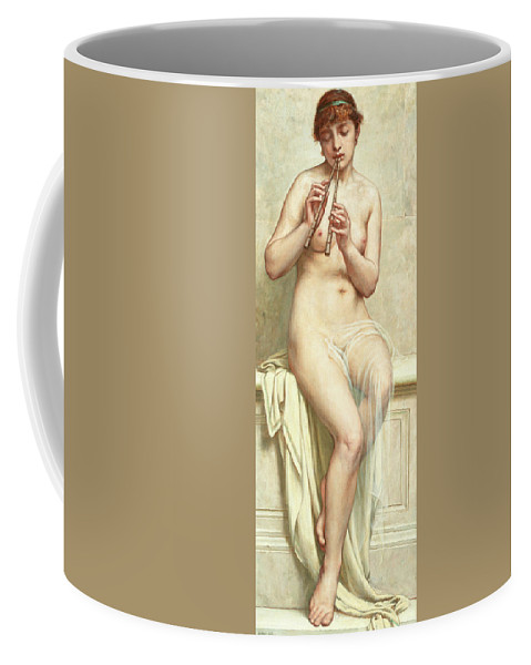 Arthur Hill Coffee Mug featuring the painting Woman by Arthur Hill