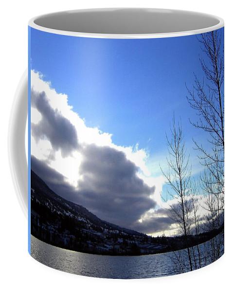 Sunrise Coffee Mug featuring the photograph Wood Lake Sunrise by Will Borden