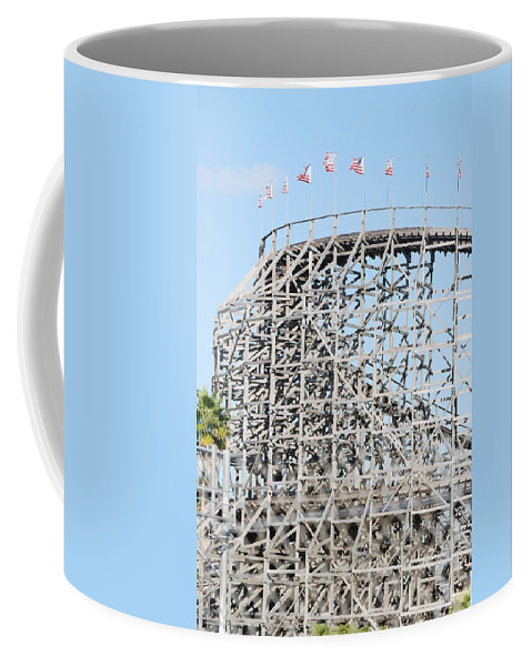 Pop Art Coffee Mug featuring the photograph Wooden Coaster by Rob Hans
