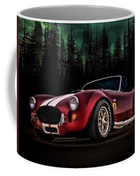 Transportation Coffee Mug featuring the digital art Woodland Cobra by Douglas Pittman