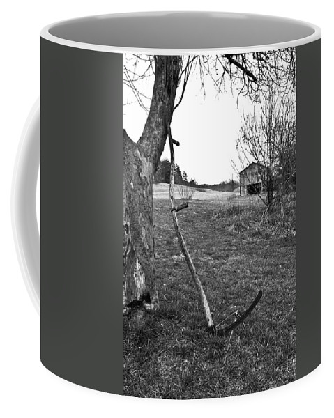 Sythe Coffee Mug featuring the photograph Workday Done by Douglas Barnett